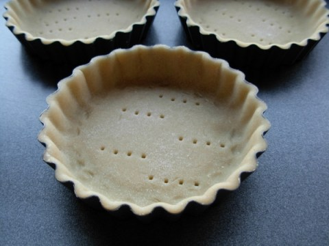 Sablee pastry - tart shells