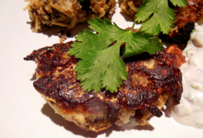 Moroccan style patties
