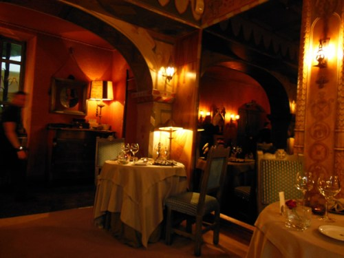 Chateau de Codignat Interior