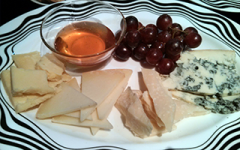 Cheese platter at Bar Missoni