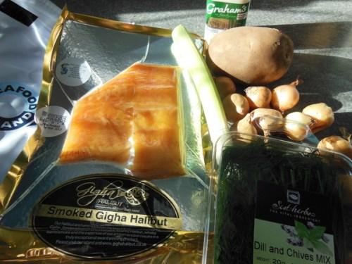 Ingredients for Mark's Cullen Skink