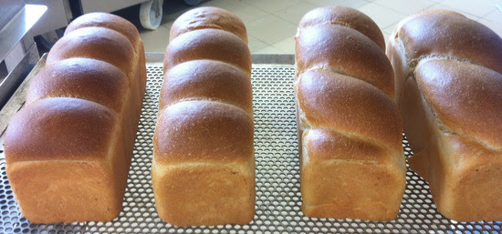 Pain de Mie - it should be shaped like the two on the right.