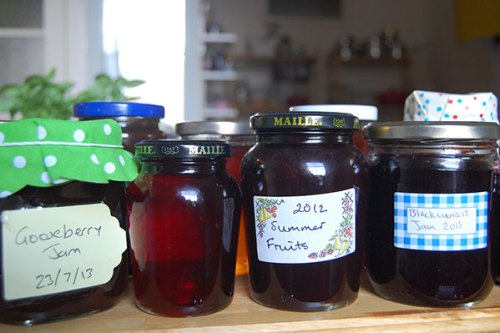 Jam you've made yourself is somehow tastier than bought jam. It also makes a great gift.