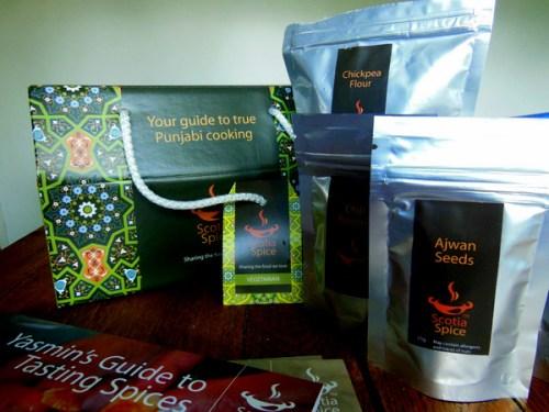 Scotia Spice Punjabi Cooking in a Box
