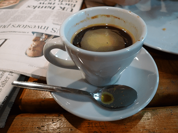 A well-made coffee is a beautiful thing.