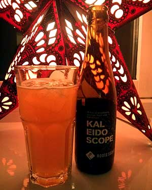 Kaleidoscope from Roots Soda Co. Interesting sparkle.