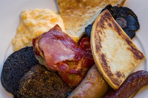 The Huxley's Full Scottish Breakfast