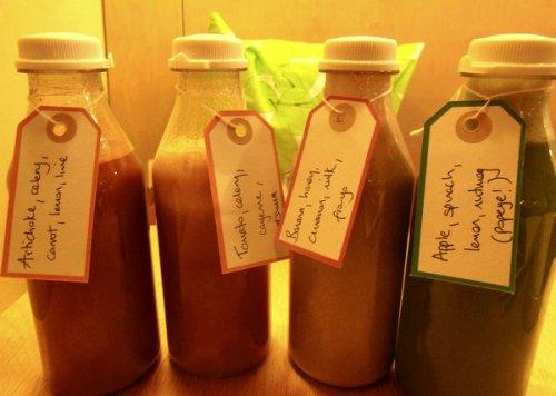 Four Hula Juices