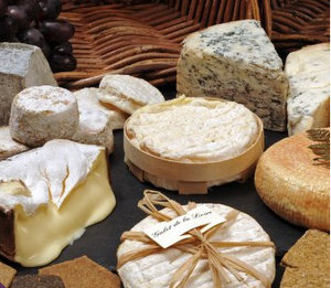 Cheese selection from Clarks Speciality Foods