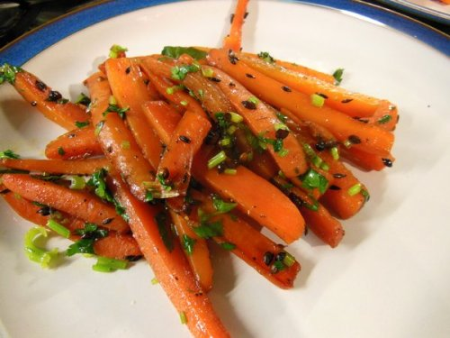 Carrots inspired by an Ottolenghi recipe from Plenty More
