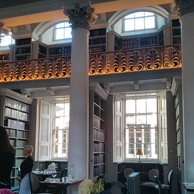 Colonnades gets its name from these elegant columns. Colonnades, Edinburgh