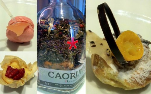 Some of our favourite things from the gin afternoon tea