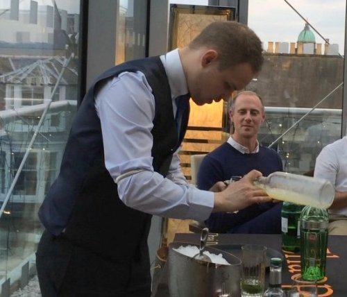 Creating the Chaophraya Cocktail