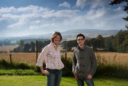 Susie Walker-Munro and Jon Cooper at Kinnettles