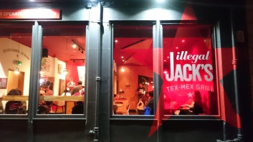 Outside Illegal Jack's