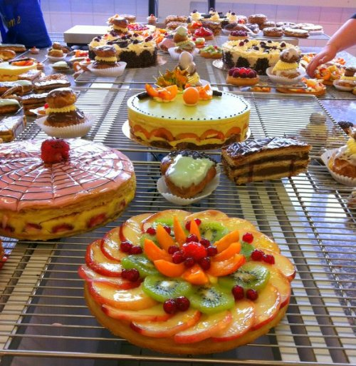 Created by trainee Patissiers at Ecole Banette