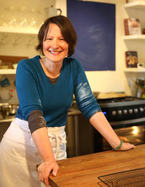 Jane Mason, author of Perfecting Sourdough Photo: Andrea Martinez