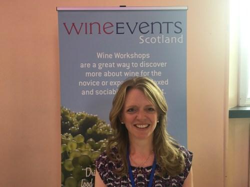Diana Thompson of Wine Events Scotland