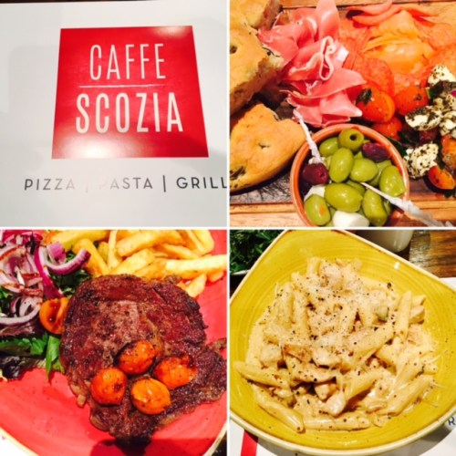 Caffe Scozia - good for filling up on carbs