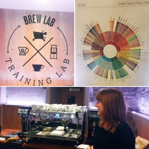 Brew Lab's Coffee Training Lab