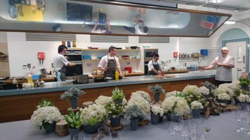 Sodexo chefs at Edinburgh Cook School