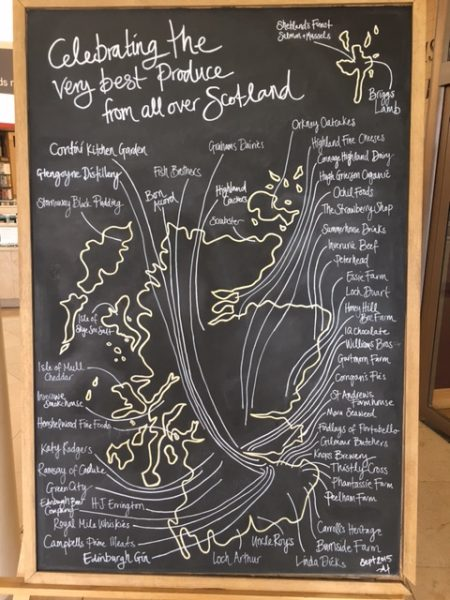 The Scottish Cafe pays homage to Scotland's wonderful larder