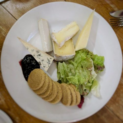 A cheeseboard with flavour, texture and scents to gladden both tastebuds and heart.