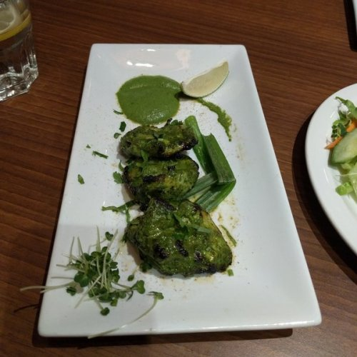 Hiralyi chicken tikka at Passage to India