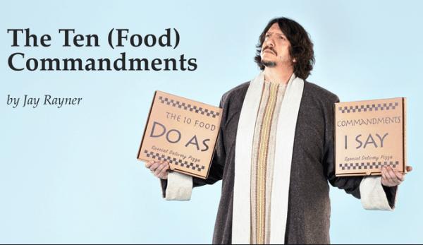 Jay Rayner – The Ten (Food) Commandments