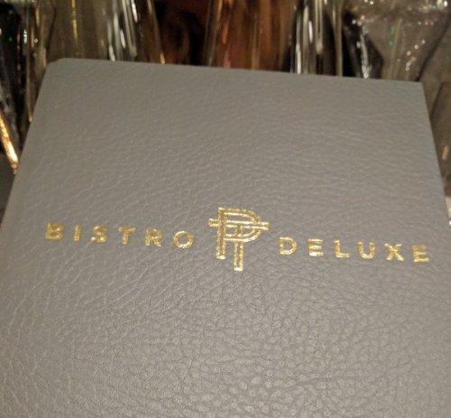 Bistro Deluxe menu