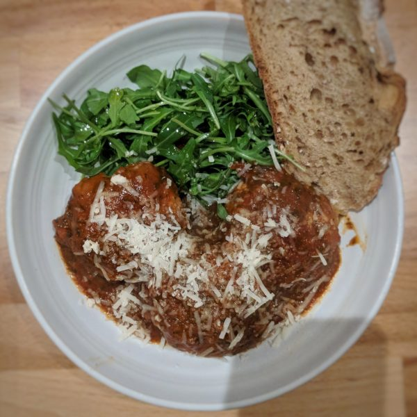 Now that's a meatball. Or three.