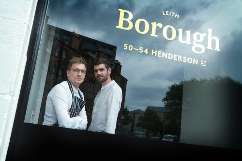 L-R Head Chef Darren Murray and Restaurant Manager Archie Kyle (Photo credit: Stewart Attwood)