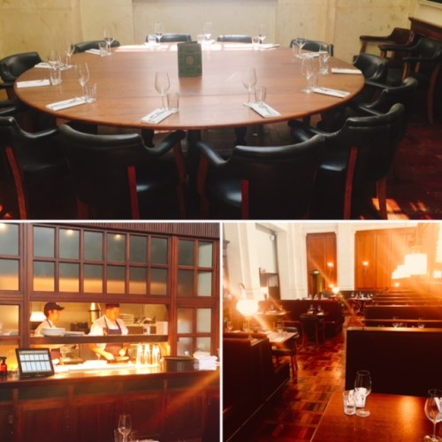 The interior of Hawksmoor Edinburgh oozes opulence