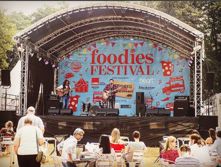 Music at Foodies Festival