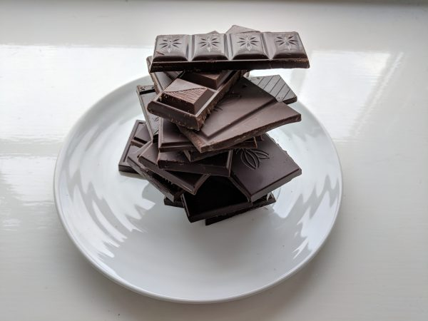 Chocolate, chocolate, chocolate. I know something about my palate that I didn't before. Or maybe it's about my psychology.