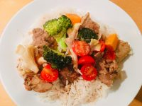 A hearty & aromatic South Thai Massaman curry, made using Spice Girl's curry kits