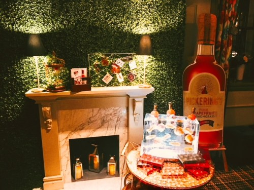 Pickering's Gin at the launch of Juniper's autumn/winter cocktail menu