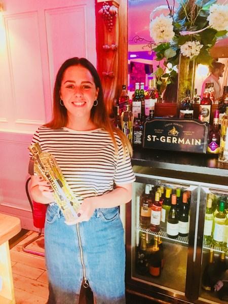 St Germain's brand ambassador, Rosie
