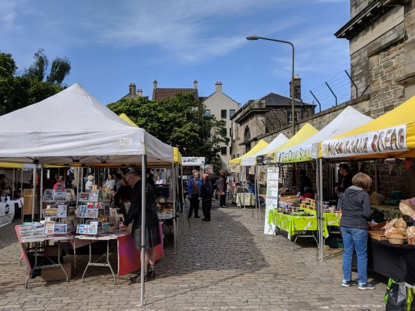 Experiencing Edinburgh – street food and markets