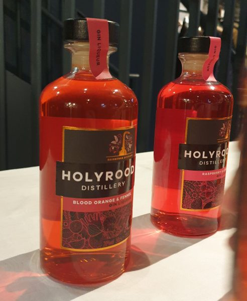 Holyrood Distillery gin liqueur