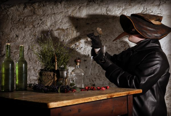 This is not how gin is made but it's an atmospheric shot.