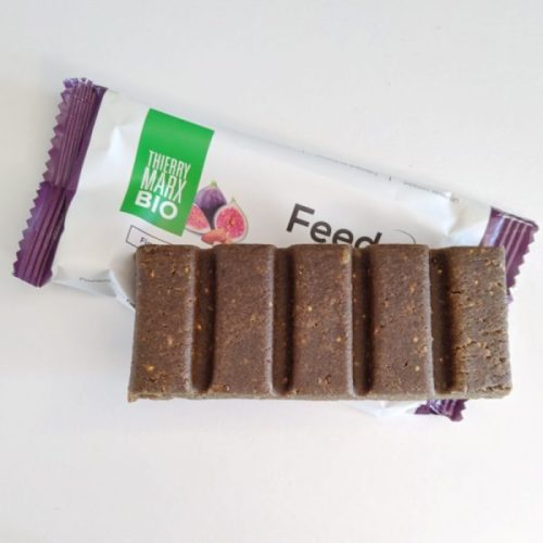 Feed. bar: surprisingly satisfying and pleasantly not sweet.
