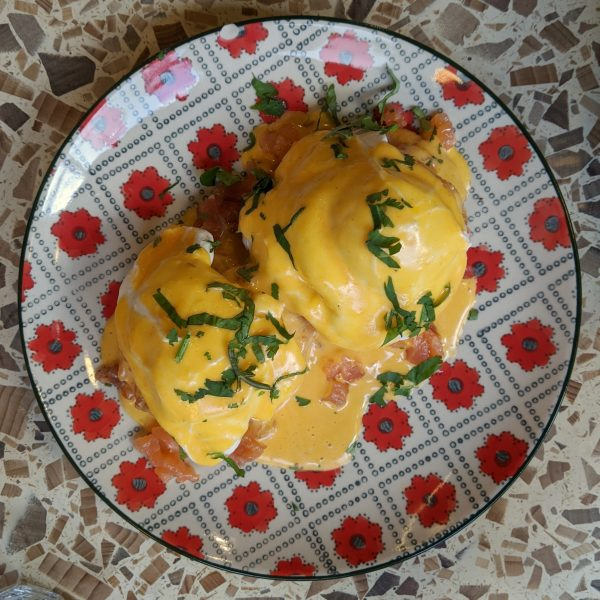They make it hard to chose. This is probably the best eggs Benedict I've ever had.