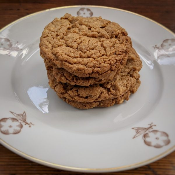 Crunchy, peanutty: the perfect peanut butter biscuit?