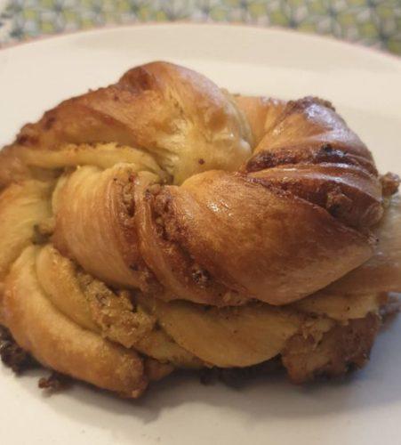 Cardamom bun from Twelve Triangles