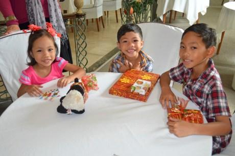 Pastor Jojo's kids on Christmas afternoon