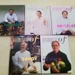 Un Cadeau de Noël Tout trouvé : Les Livres de la Collection Best Of Grands Chefs !