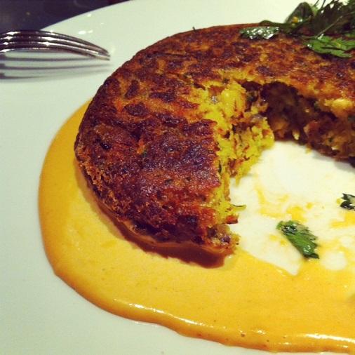 110 Taillevent restaurant un été américain crabe cake