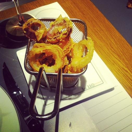 110 Taillevent restaurant un été américain onion rings