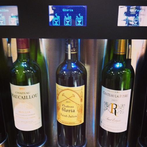 wine touche sélection de vins au verre